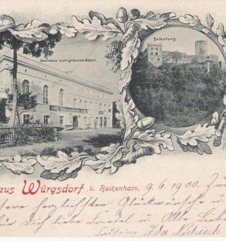 Gasthaus zum goldenen Stern Würgsdorf