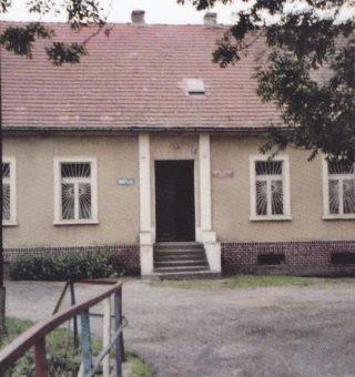 Szkoła dolna obecnie w Wierzchosławicach,