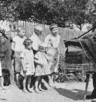 kataryniarz w Wierzchosławicach